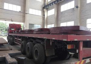 佳龙钢板产品运输