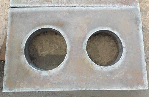 佳龙 异形镂空件钢板切割