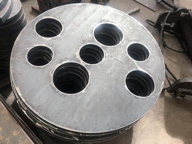 佳龙 圆件钢板数控切割